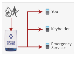 Alarm Monitoring Services Only per Month from Alarm Relay